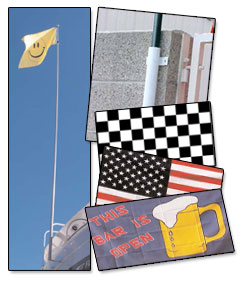 Combo Special, Flag, Pole and Mount