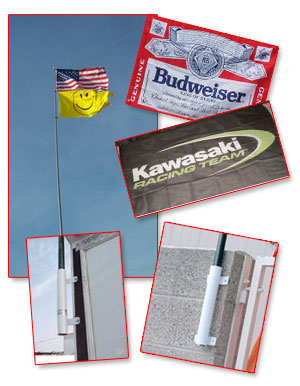 Combo Special 2, Flag, Pole and Mount