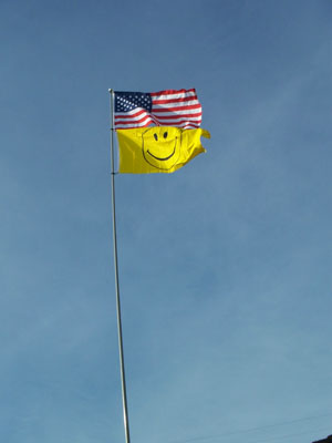 24 Ft Heavy Duty Fiberglass Flag Pole (NEW AND VERY POPULAR!)